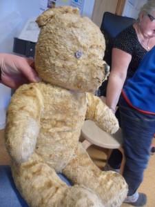 Og nok en skikkelig gammel bamse !