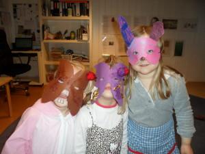 Karnevalsklare!